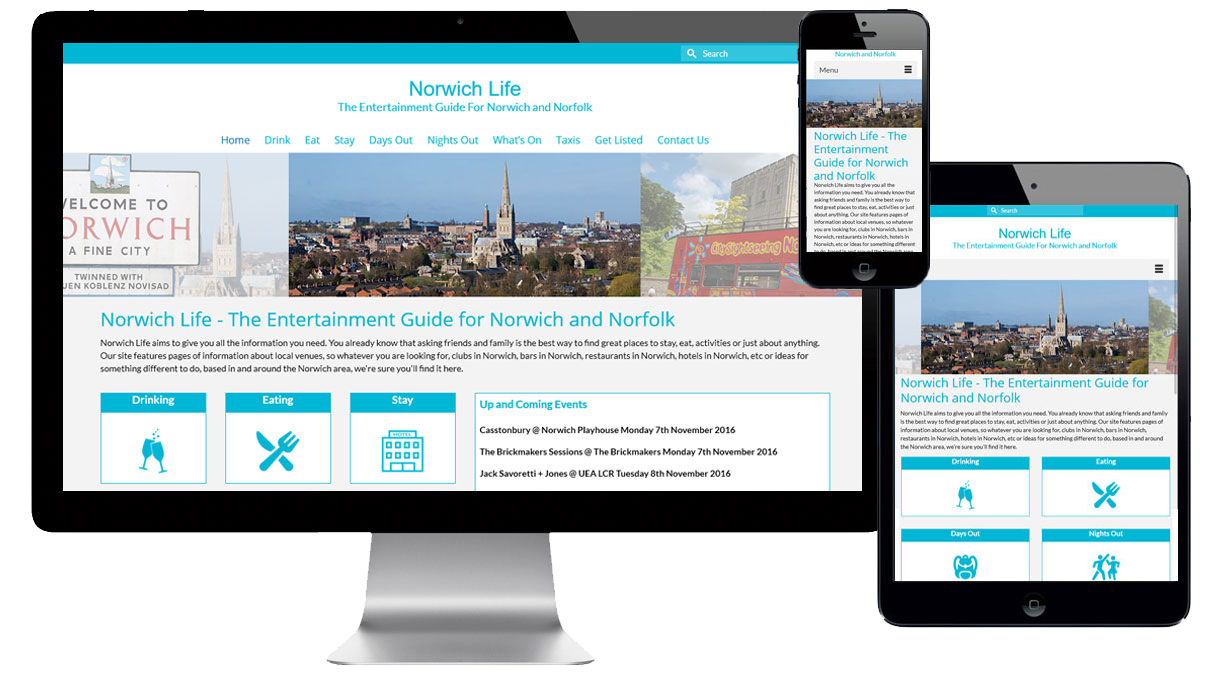 Affordable Website Design Norwich - Responsive Website Design